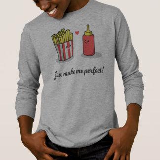 T-shirt Romantique drôle vous m'incitez à perfectionner la