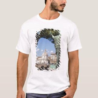 T-shirt Rome, le forum, statue de Cesar