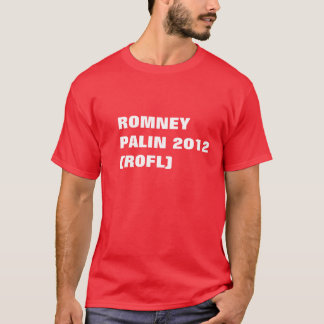 T-SHIRT ROMNEY PALIN 2012 (ROFL)