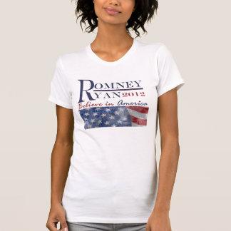T-shirt Romney - tee - shirt 2012 de Ryan