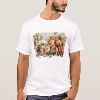 T-shirt Romulus a allaité par le -loup