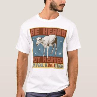 """T-shirt Ron Paul """"soit"""" chemise non vécue en troupe"""
