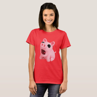 T-shirt Rosa Shocked