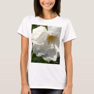 T-shirt Rose blanc de prune de plage