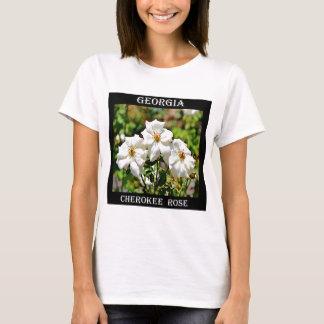 T-shirt Rose cherokee 2 de la Géorgie