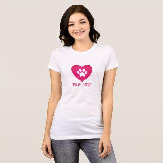T-shirt Rose d'amour de patte