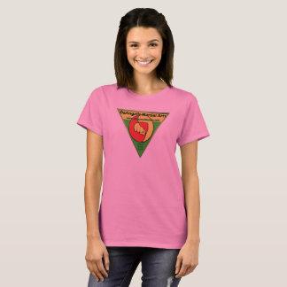T-shirt rose d'arts martiaux de DeAngelis