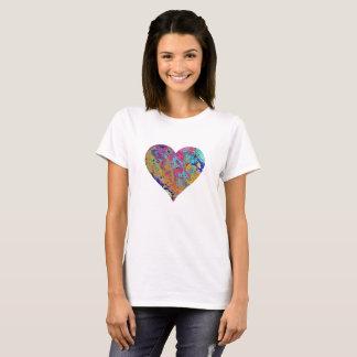 T-shirt rose de bulle