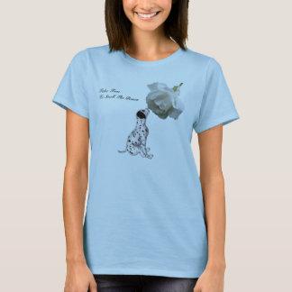 T-shirt Rose de chiot de roses d'odeur inspiré