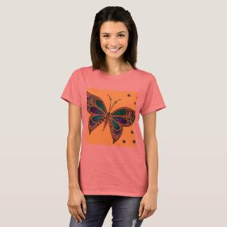 T-shirt rose de conscience de fibromyalgie