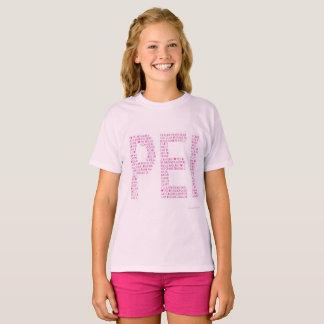 T-shirt Rose de l'amour PEI