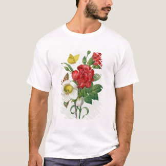 T-shirt Rose de Noël, Helleborus Niger