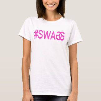 T-SHIRT ROSE DE SWAGG