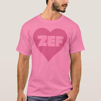 T-SHIRT ROSE DE ZEF
