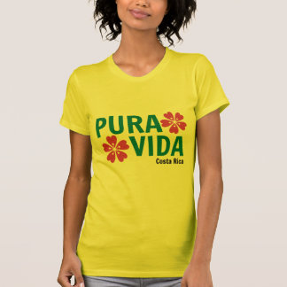 T-shirt rose floral jaune de Vida
