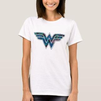 T-shirt Rose WW de bleu