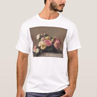T-shirt Roses dans un plat, 1882