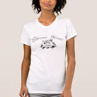 T-shirt Roses de chrome