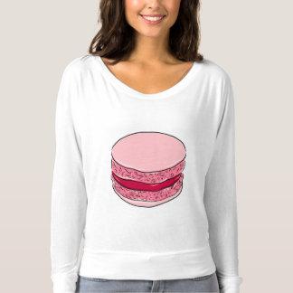 T-shirt Roses roses de bonbon à dessert de Fraise de