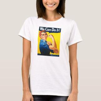 T-shirt Rosie le rivoir nous pouvons le faire la deuxième