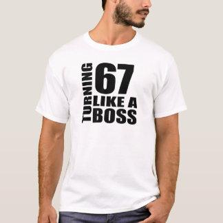 T-shirt Rotation de 67 comme des conceptions d'un
