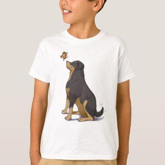T-shirt Rott heureux