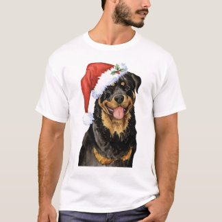 T-shirt Rottweiler heureux de Howlidays