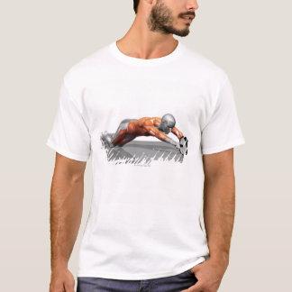 T-shirt Roue d'ab