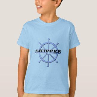 T-shirt Roue de bateau de capitaine