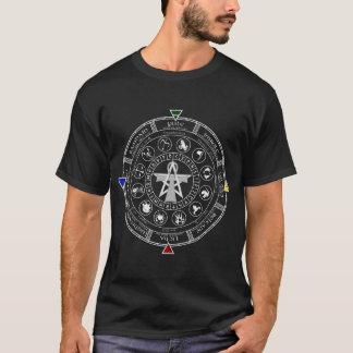 T-shirt Roue des runes de Sabbats de zodiaque d'année