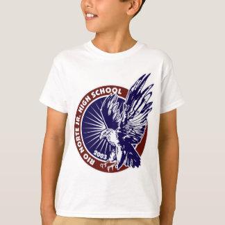 T-shirt Rouge bleu Trim.jpg du médaillon W
