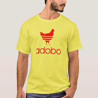 T-shirt Rouge d'Adobo