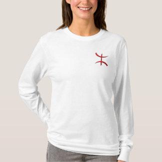 T-shirt rouge de berber d'aza