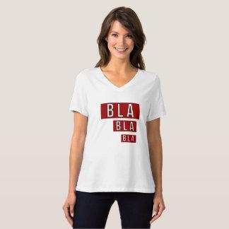 T-shirt Rouge de Bla Bla Bla