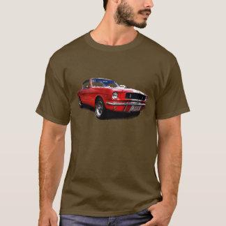 T-shirt rouge de mustang
