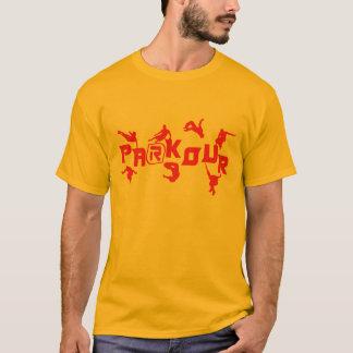 T-shirt Rouge de Parkour