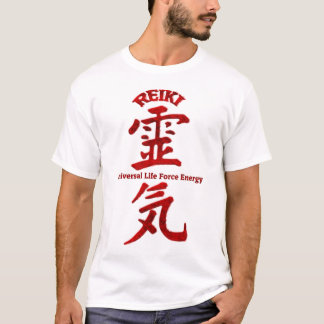 T-shirt Rouge de Reiki