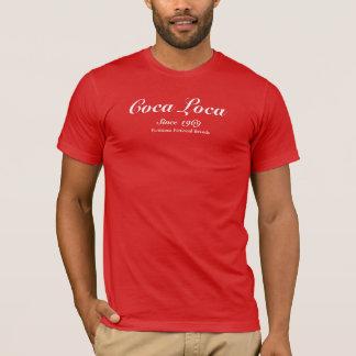 T-shirt rouge de remplaçants de coca pour les