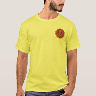 T-shirt Rouge de Subutai et chemise de joint d'or