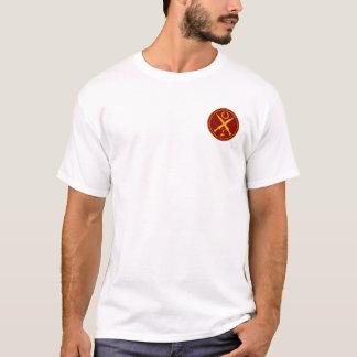 T-shirt Rouge foncé de Jules César et chemise de joint