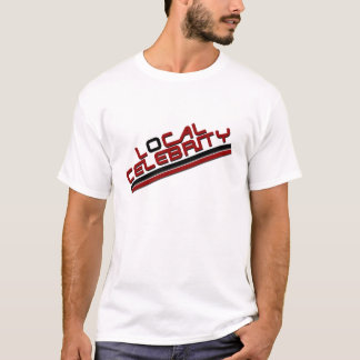 T-shirt Rouge local de célébrité