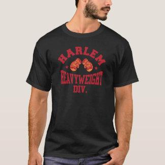 T-shirt Rouge lourd de Harlem