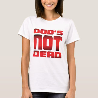 T-shirt Rouge pas complètement de | de Dieu