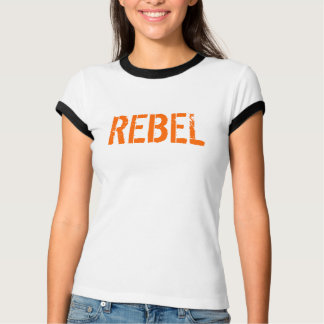 T-shirt Rouge rebelle de lion