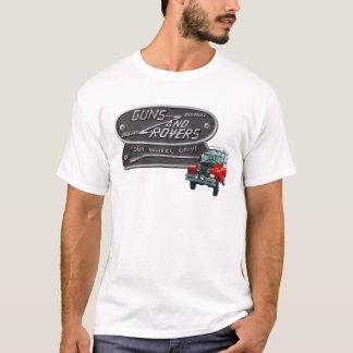 T-shirt Rouge Rover d'armes à feu et de vagabonds