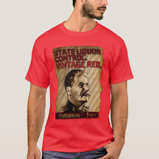T-shirt Rouge vintage