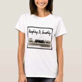 T-shirt Roughing le sans à-coup dans la remorque vintage