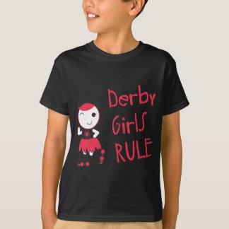 T-shirt Rouleau Derby - règle de filles de Derby