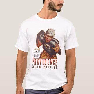 T-shirt Rouleaux de vapeur de Providence, Île de Rhode