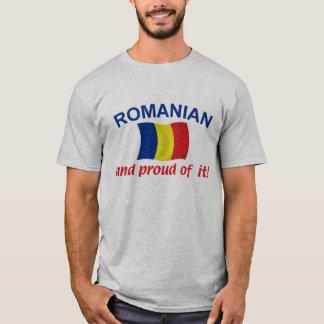 T-shirt Roumain fier